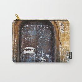 Old Sicilian door of Catania Carry-All Pouch