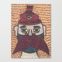 Mustache. Canvas Print