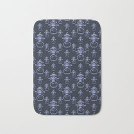 Lyon Head Ornate Motif Pattern Bath Mat