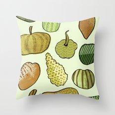 Good Gourd! Throw Pillow