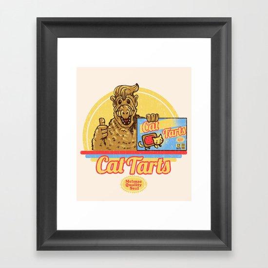 Cat Tarts Framed Art Print