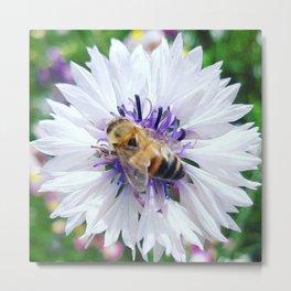 Blessed Bee Metal Print