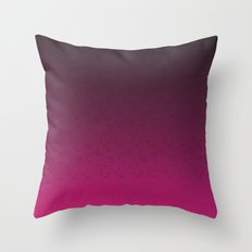 Pink Butterfly Throw Pillow