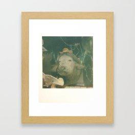 Norwegian Cow Framed Art Print