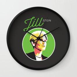 Jill Stein - Vote Green Party Political Art Wall Clock