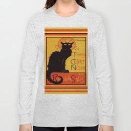 Tournee Du Chat Noir - After Steinlein Long Sleeve T-shirt