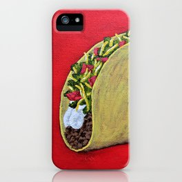 Taco 'Bout Awesome iPhone Case