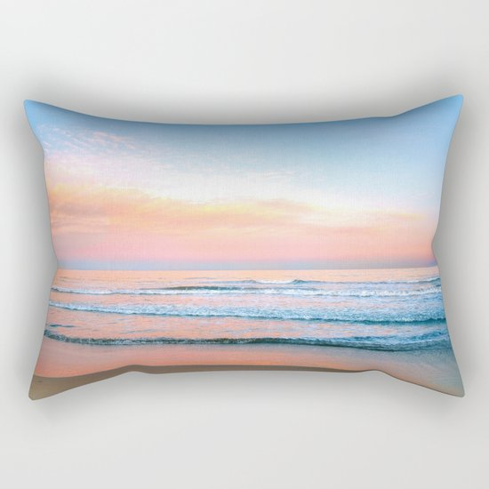 Pastel Ocean Rectangular Pillow