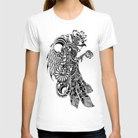rooster T-shirts featuring Rooster by BurnBrand