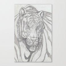 large tiger Canvas Print