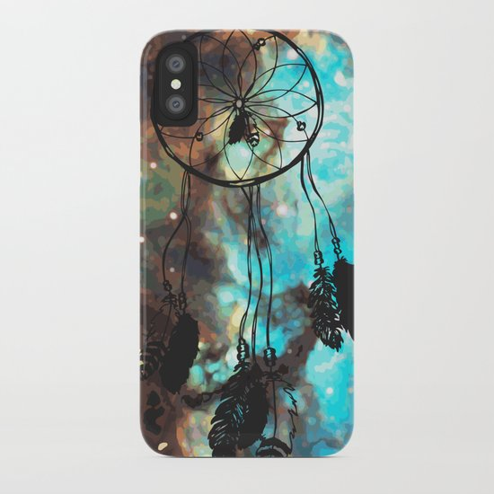 Dreamcatcher (blue) iPhone Case