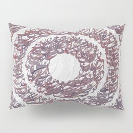 Persian typography Pillow Sham