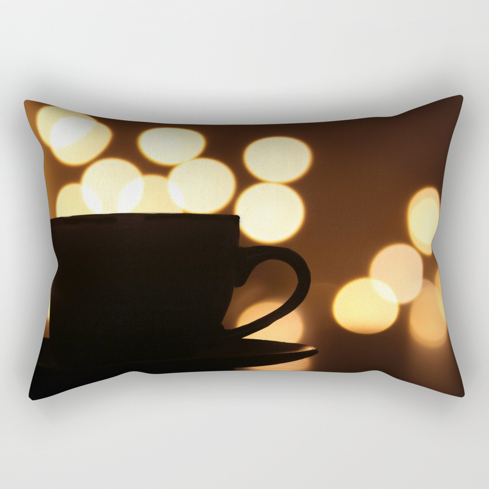 A Cup Of Coffee! Rectangular Pillow RPW7952519