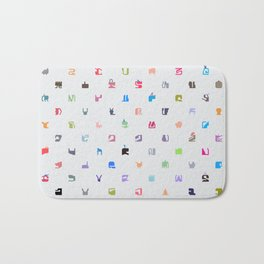 Everything and Everyone Bath Mat