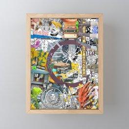 Pop UP - THREE Framed Mini Art Print