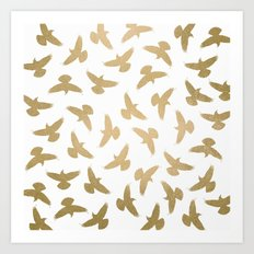 Birds / 2 Art Print
