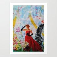 vogue Art Prints featuring Vogue by John Turck