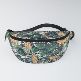 Cheetah in the wild rainforest Fanny Pack