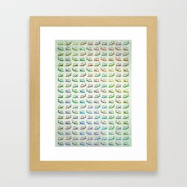 snails Framed Art Print