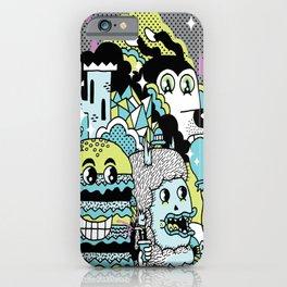 Magic Friends iPhone Case