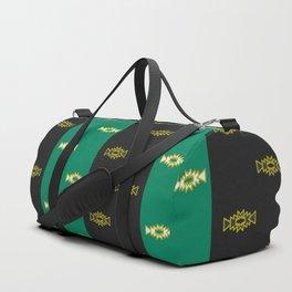 Stripes and small geometric shapes Duffle Bag