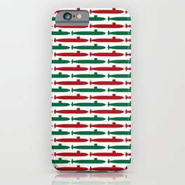 Christmas Subs iPhone Case