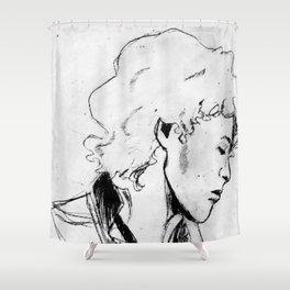 Enjolras Shower Curtain