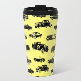 Classic Cars // Yellow Travel Mug