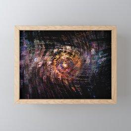 Concept abstract : The digital eye Framed Mini Art Print