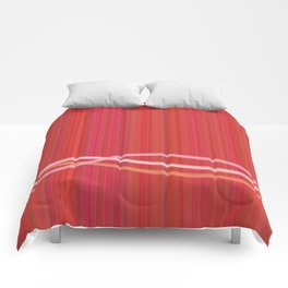 Strawberry Waves Comforters