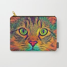 AnimalColor_Cat_ 011_by_JAMColors Carry-All Pouch