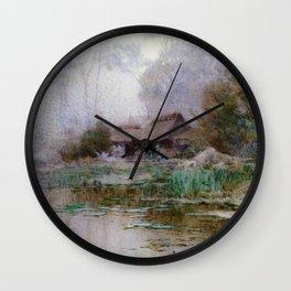 Yoshida Hiroshi - Morning Mist - Digital Remastered Edition Wall Clock