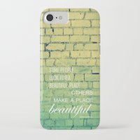 shabby chic iPhone & iPod Cases featuring shabby chic by Nina Sinitskaya