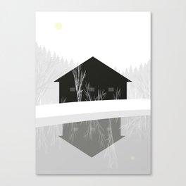 winter hope Canvas Print