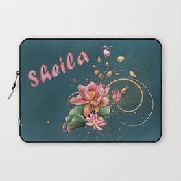 Name Sheila Laptop Sleeve