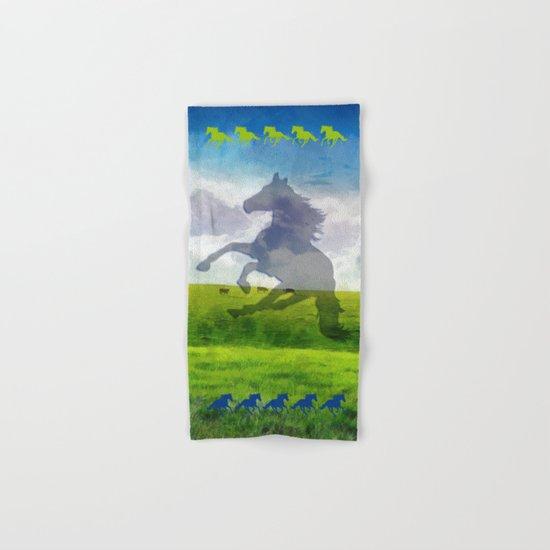 Horse fantasy Hand & Bath Towel