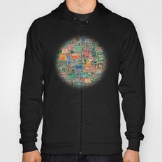 World Stamps Hoody