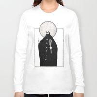 tarot Long Sleeve T-shirts featuring The Tarot of Death by Micah Ulrich