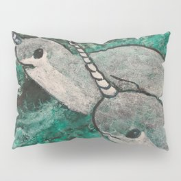 Brothers Narwhal Pillow Sham