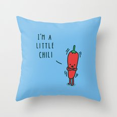 Chili Throw Pillow