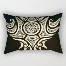 Dark Riseing Rectangular Pillow