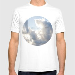 On Earth there is no Heaven ♥ T-shirt