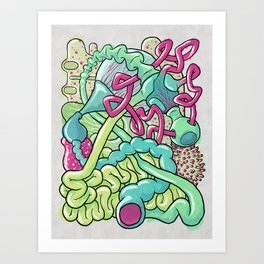 Biological Playground Art Print