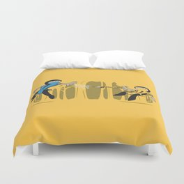 Round One Duvet Cover