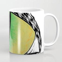 Eye of the Black Cat Coffee Mug