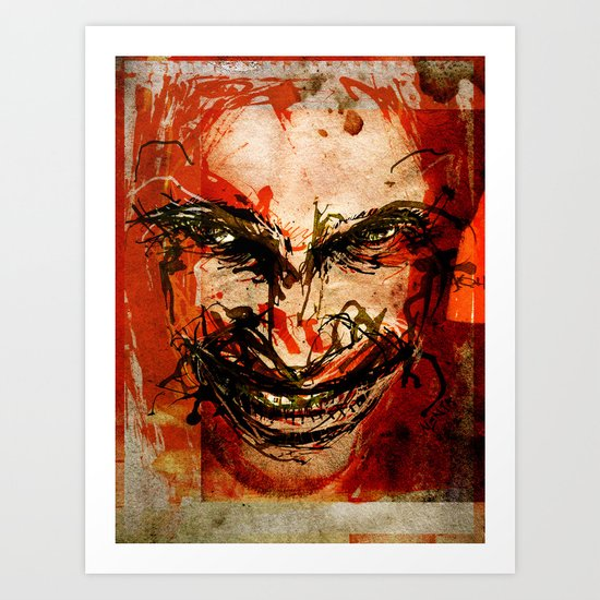 Aphex Twin Art Print