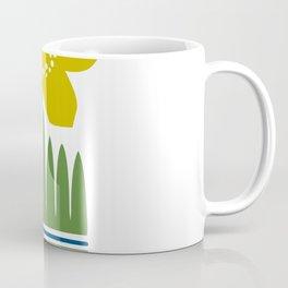 Nordic Yellow Flower Coffee Mug