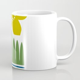 Nordic Yellow Flower Coffee Mug