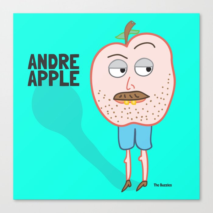 Andre Apple Canvas Print