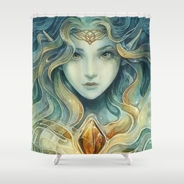Snowqueen Shower Curtain